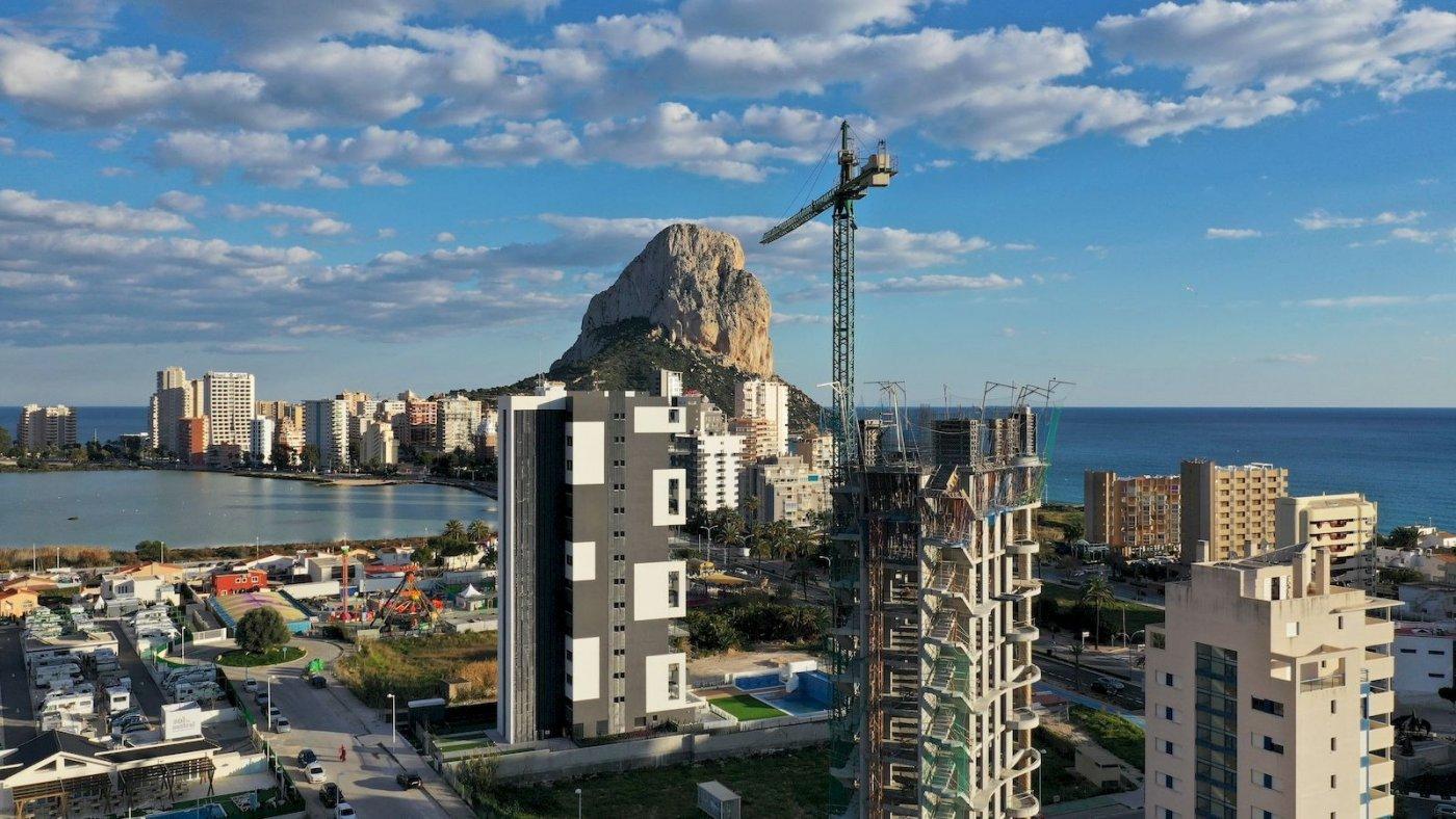 NUEVA PROMOCION EN VENTA EN PLAYA DEL ARENAL DE CALPE - COSTA BLANCA - ALICANTE