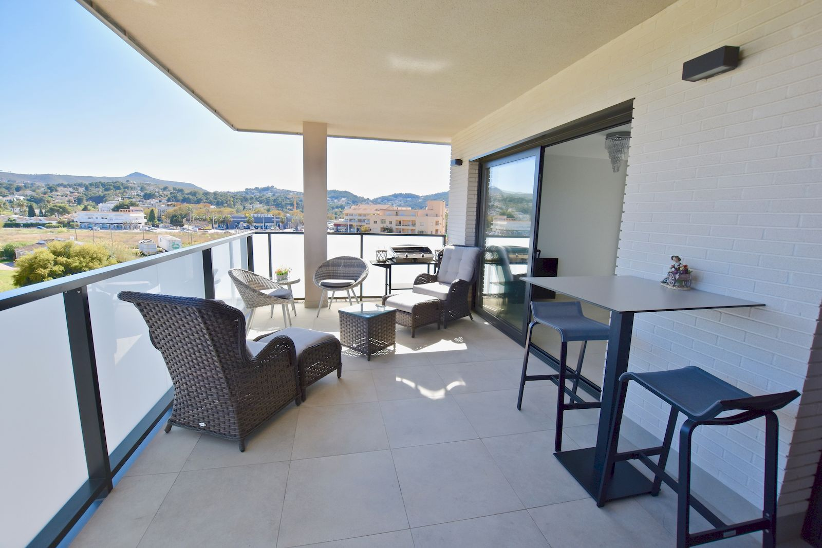 Moderno Apartamento en alquiler temporal en el Arenal de Javea - Costa Blanca - Alicante