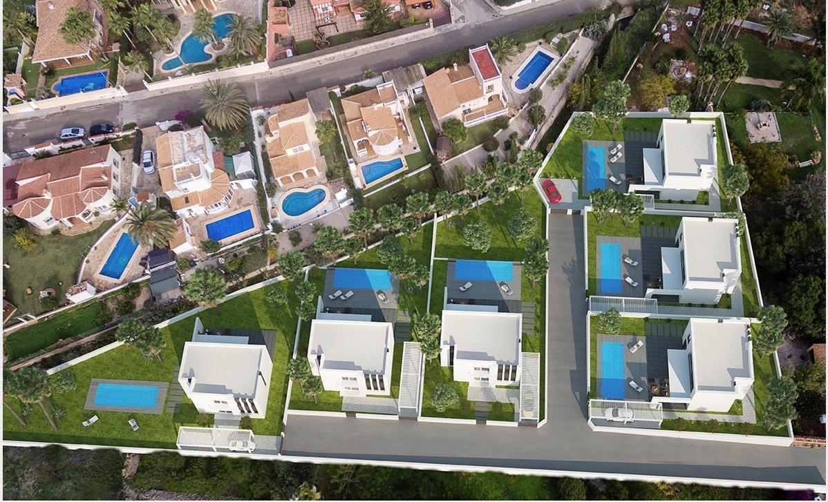 Villa Moderna de Nueva Construccion a la Venta en Denia - Tossal Gross - Costa Blanca