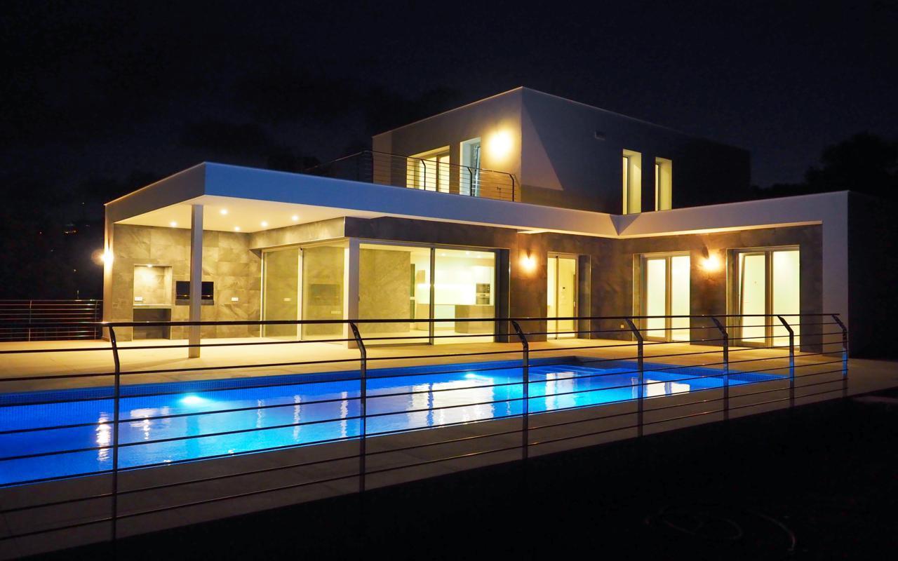 Villa moderna de nueva construccion a la venta en Moraira Camarrocha - Costa Blanca