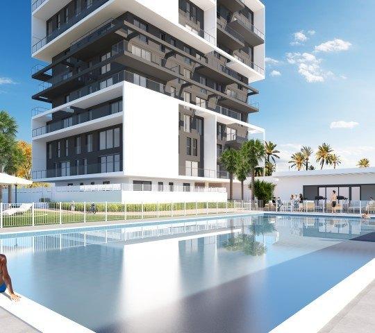 Nueva promocion de apartamentos de lujo con diseño innovador en Calpe - Costa Blanca