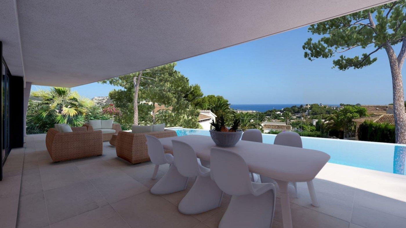 Villa Moderna de Nueva Construcción a la Venta en Moraira - Benimeit