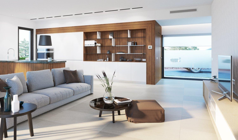 Villa de nueva construcción de diseño moderno a la venta en Javea - Costa Blanca