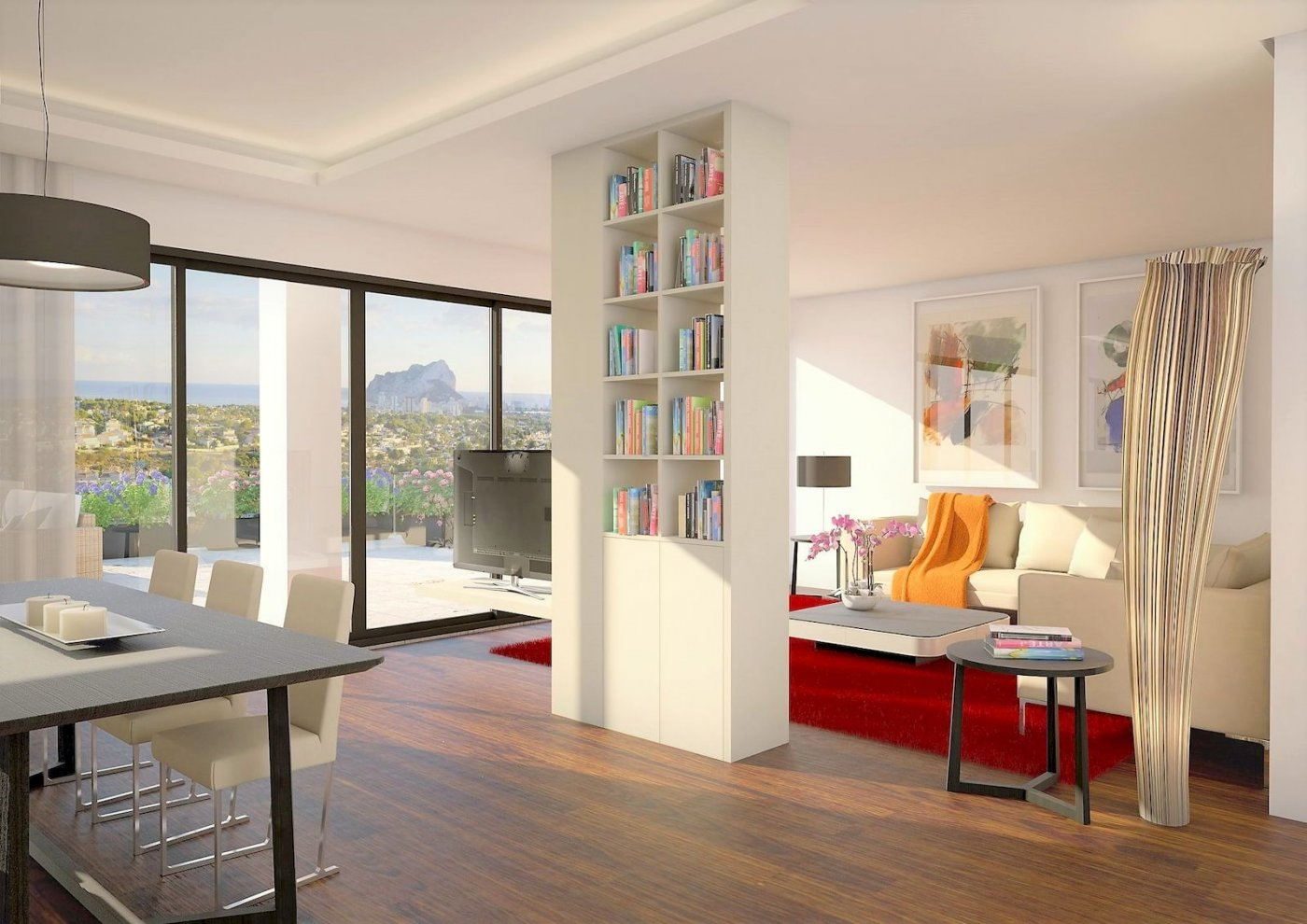 Villa de lujo estilo moderno a la venta en Calpe - Costa Blanca