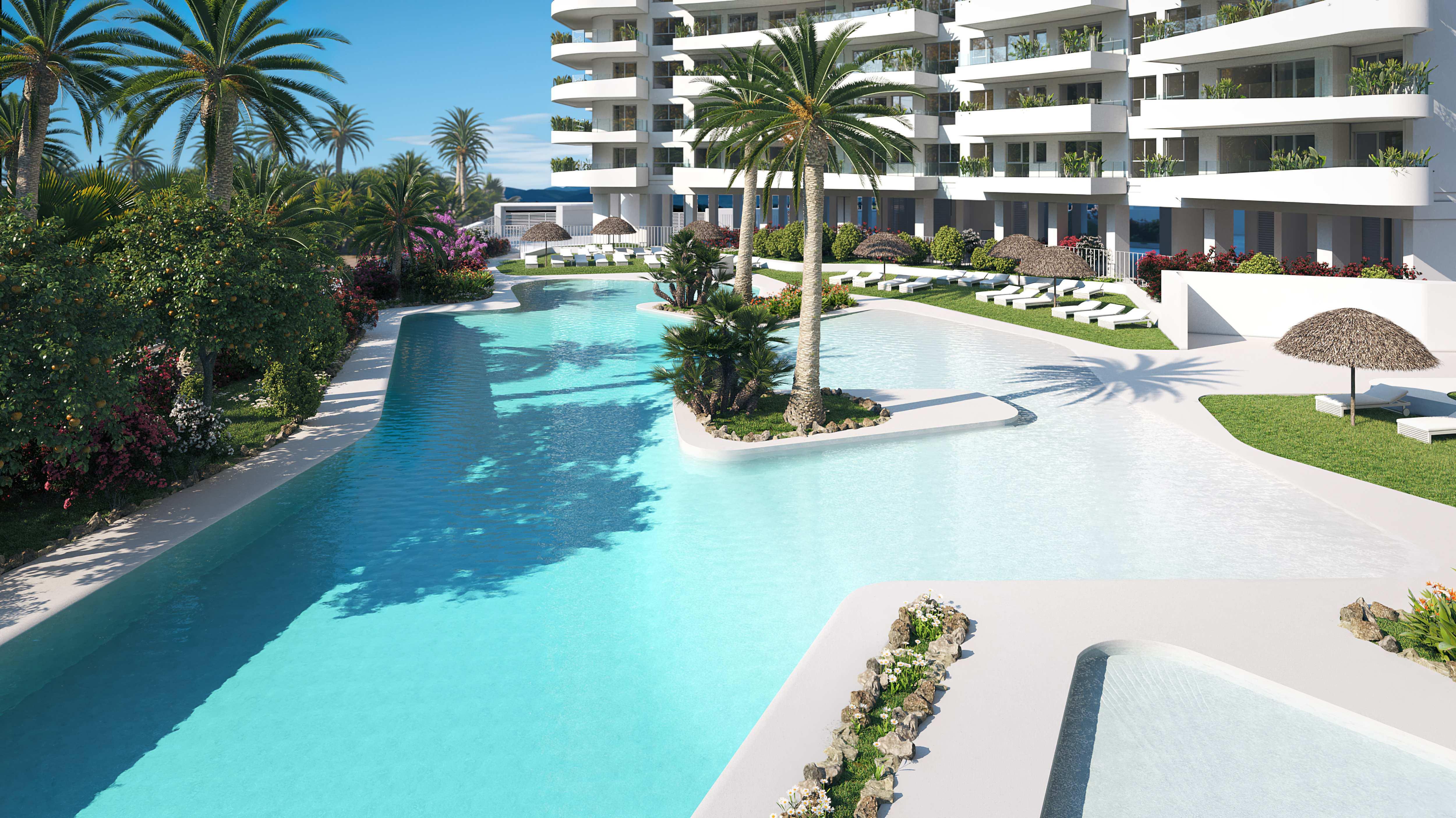 Exclusivo apartamento a la venta de nueva construcción en Playa de Canet -Valencia