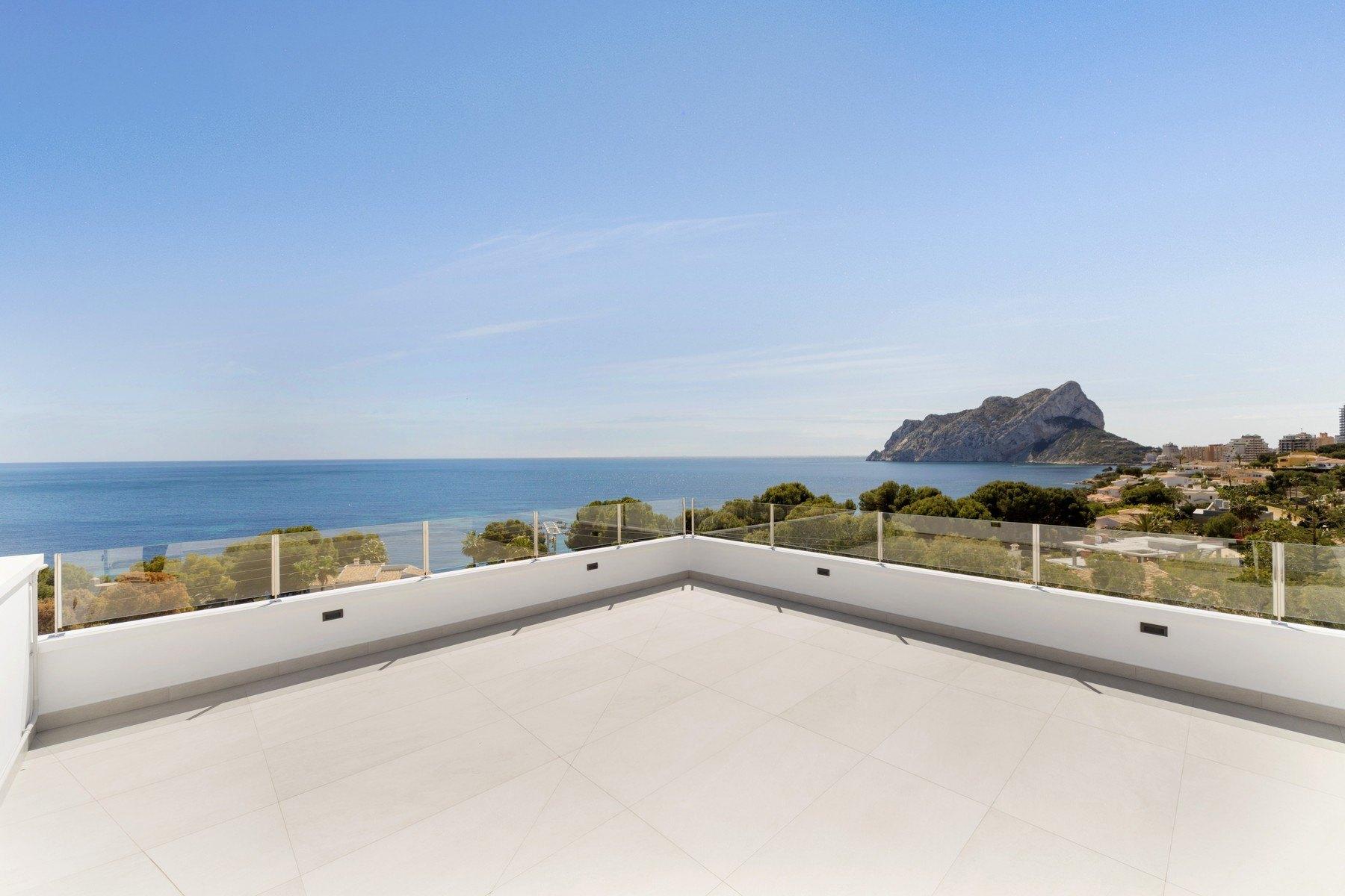 Magnífica villa de lujo frente al mar en Calpe - Costa Blanca