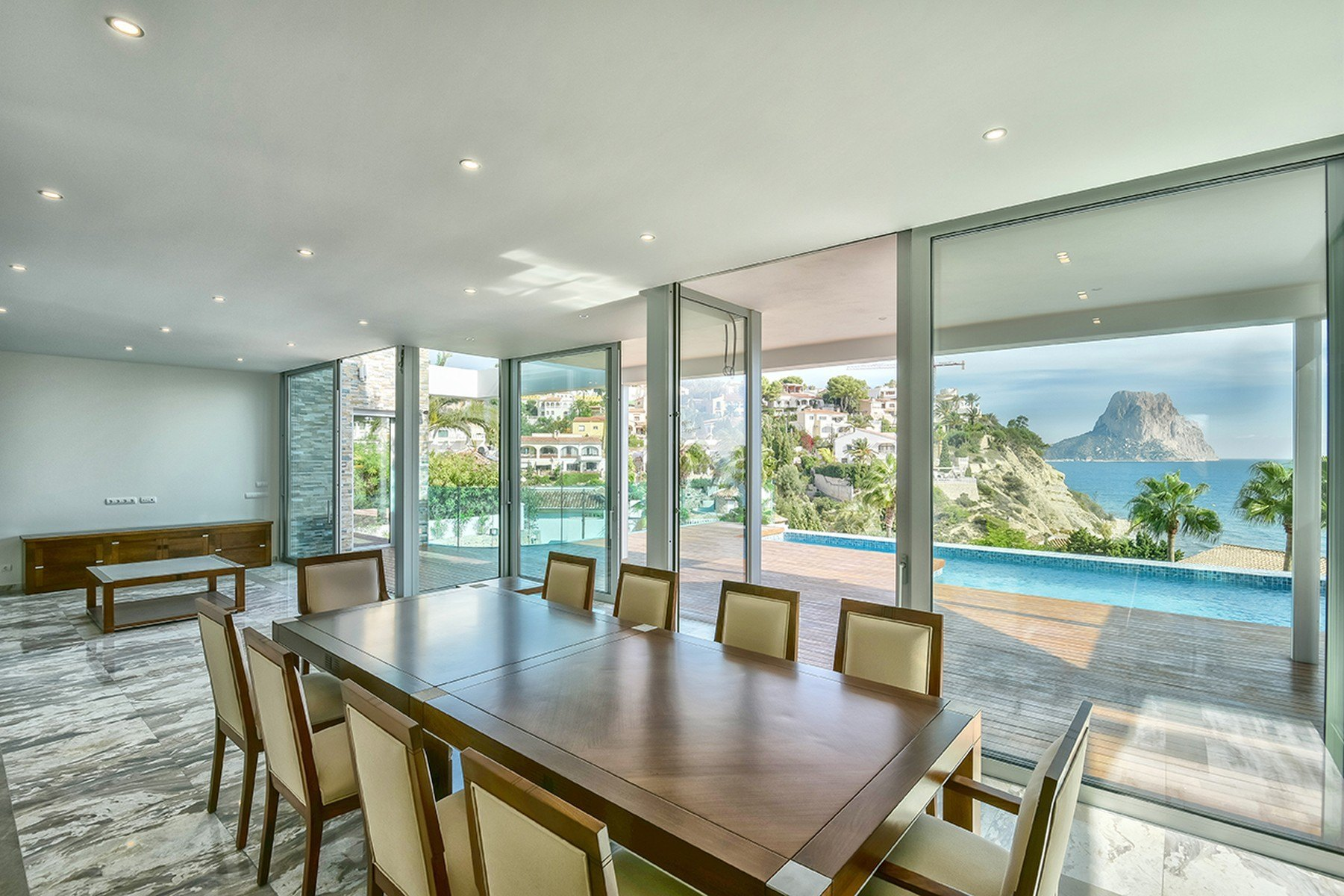 Chalet de lujo moderno de nueva construcción con vistas al mar en Puerto Blanco Calpe - Costa Blanca