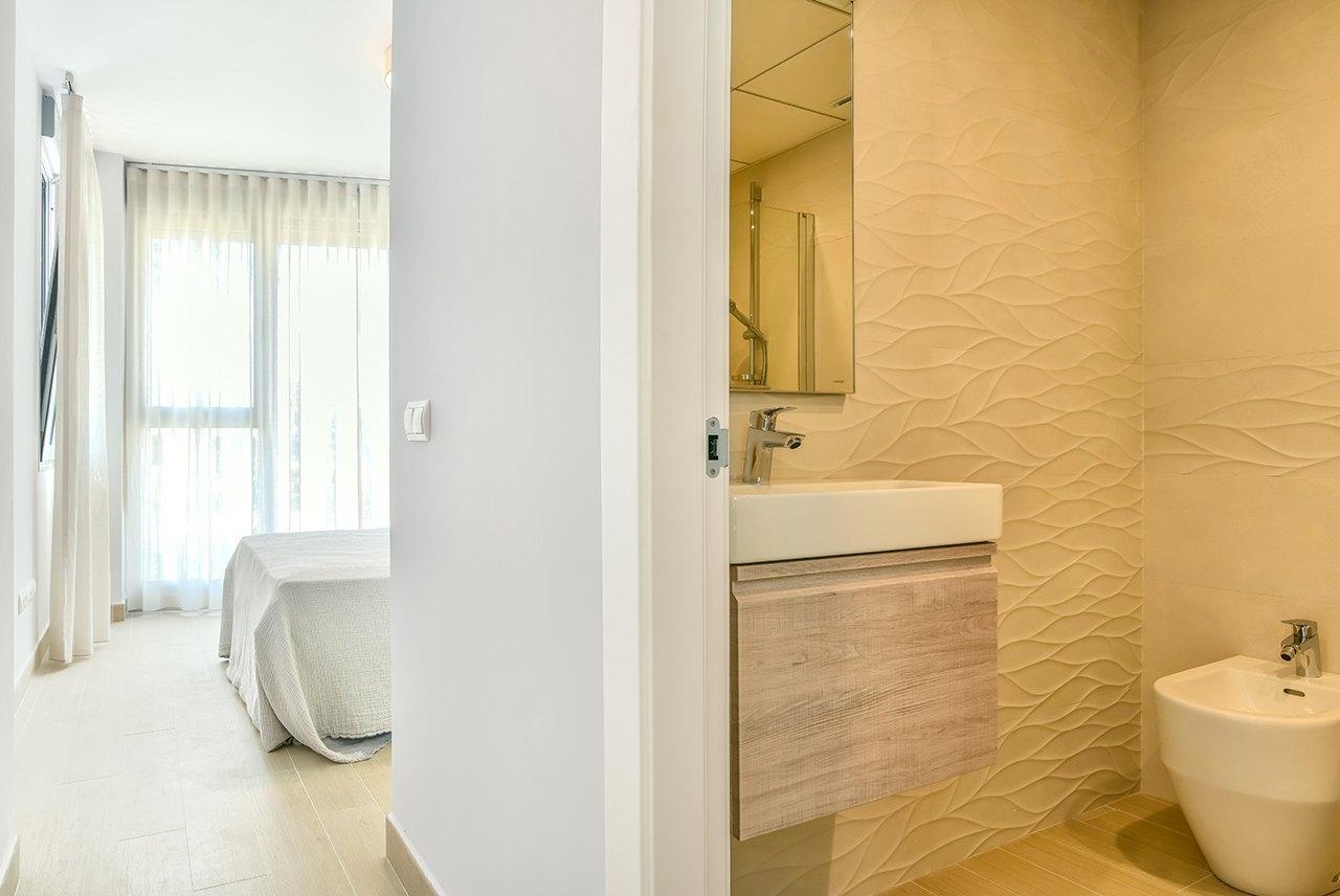 Apartamento de obra nueva a la venta en Calpe con vistas al mar - Costa Blanca