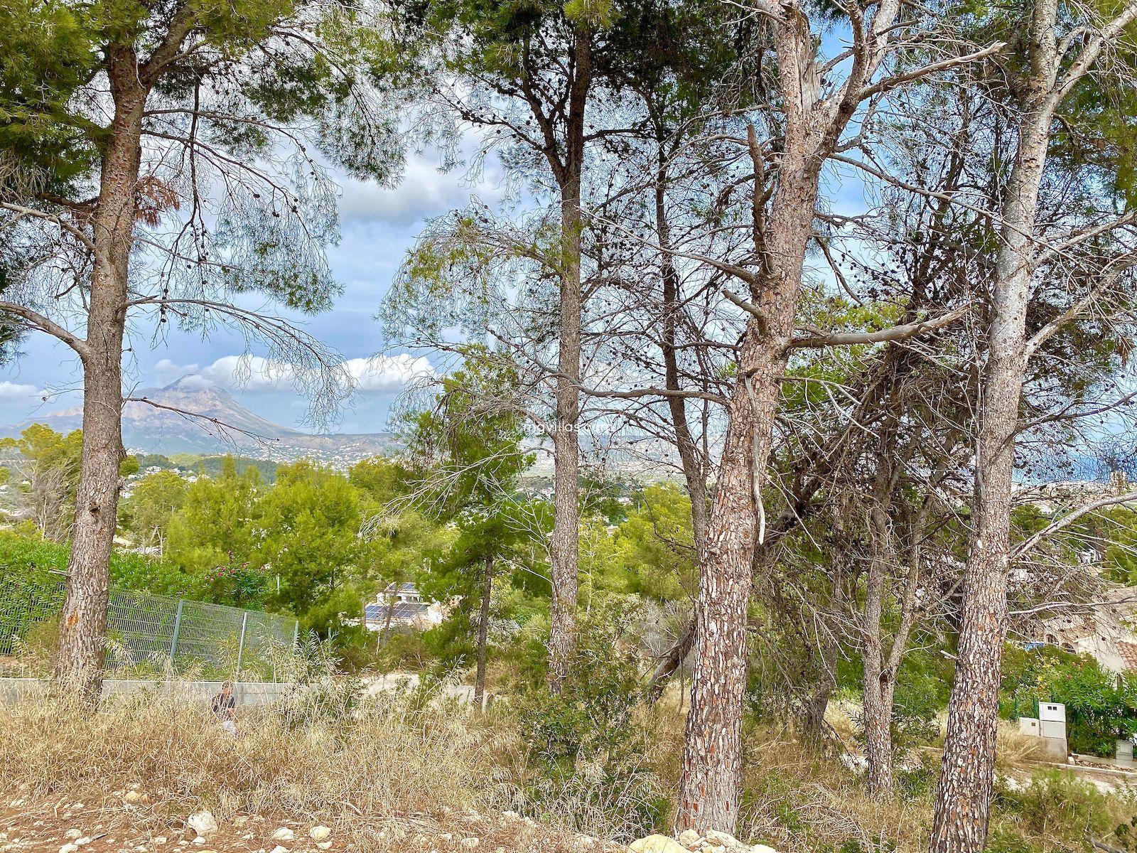 Proyecto de Villa Moderna a la Venta con vistas al Mar en Tossalet - Javea - Costa Blanca