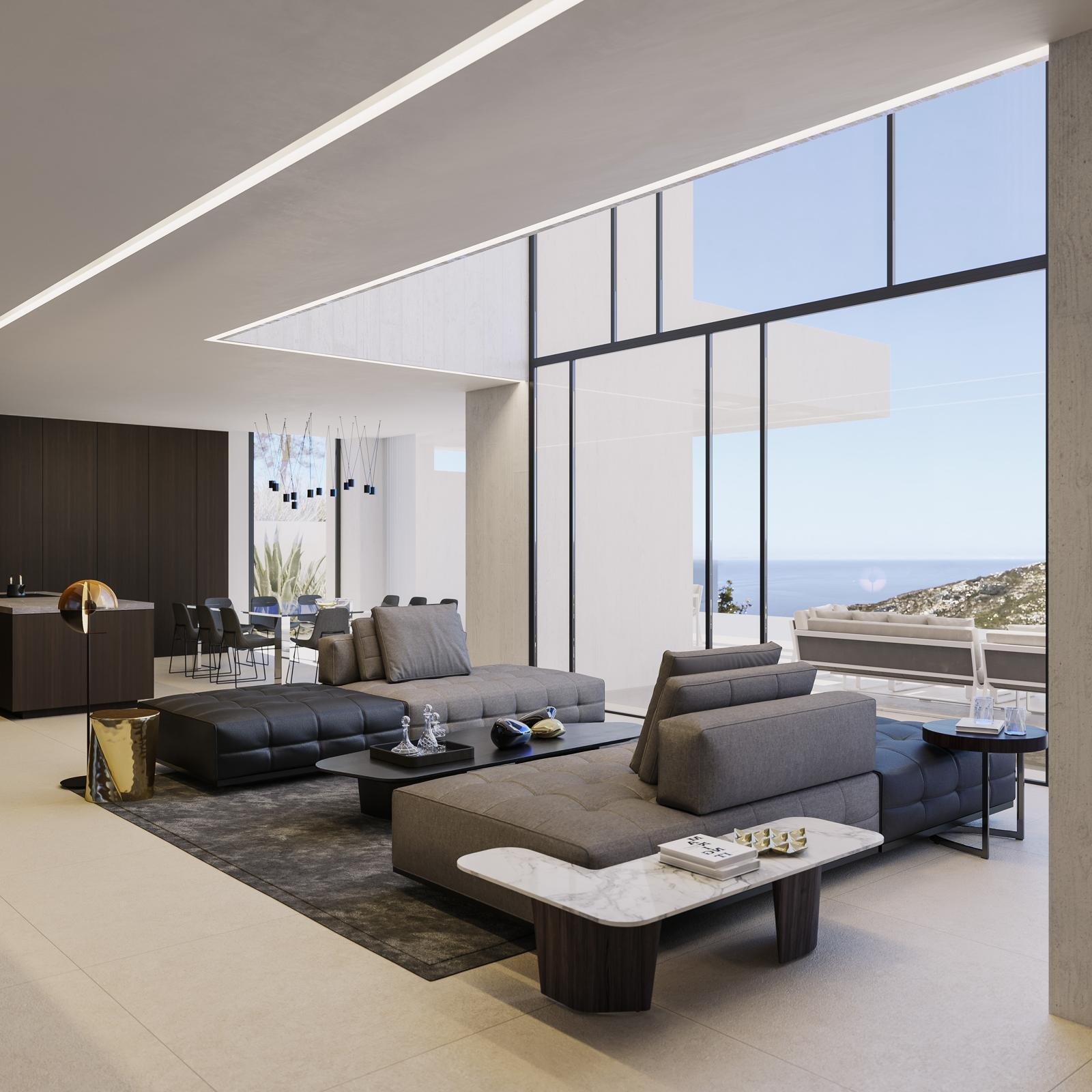 Projecto con Licencia de Villa de Lujo Moderno a la Venta en La Granadella - Javea - Costa Blanca