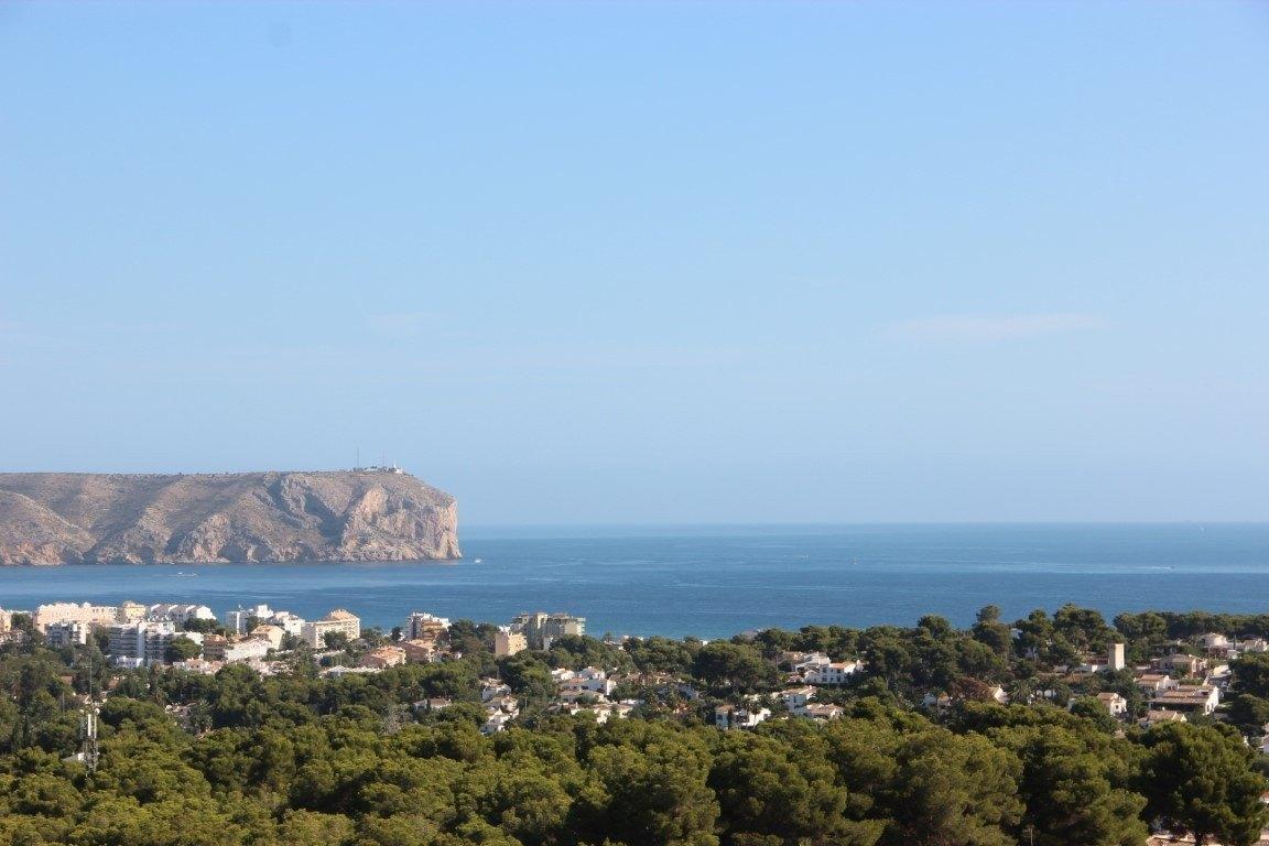 Villa de Obra Nueva a la Venta en Tosalet con Vistas al Mar - Javea - Costa Blanca