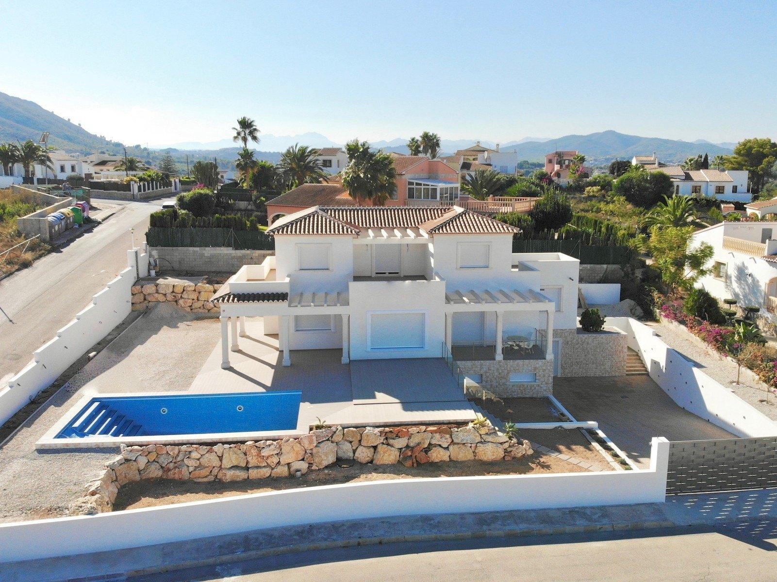 Villa de nueva construcción con vista al mar a la venta en Pinomar - Javea - Costa Blanca