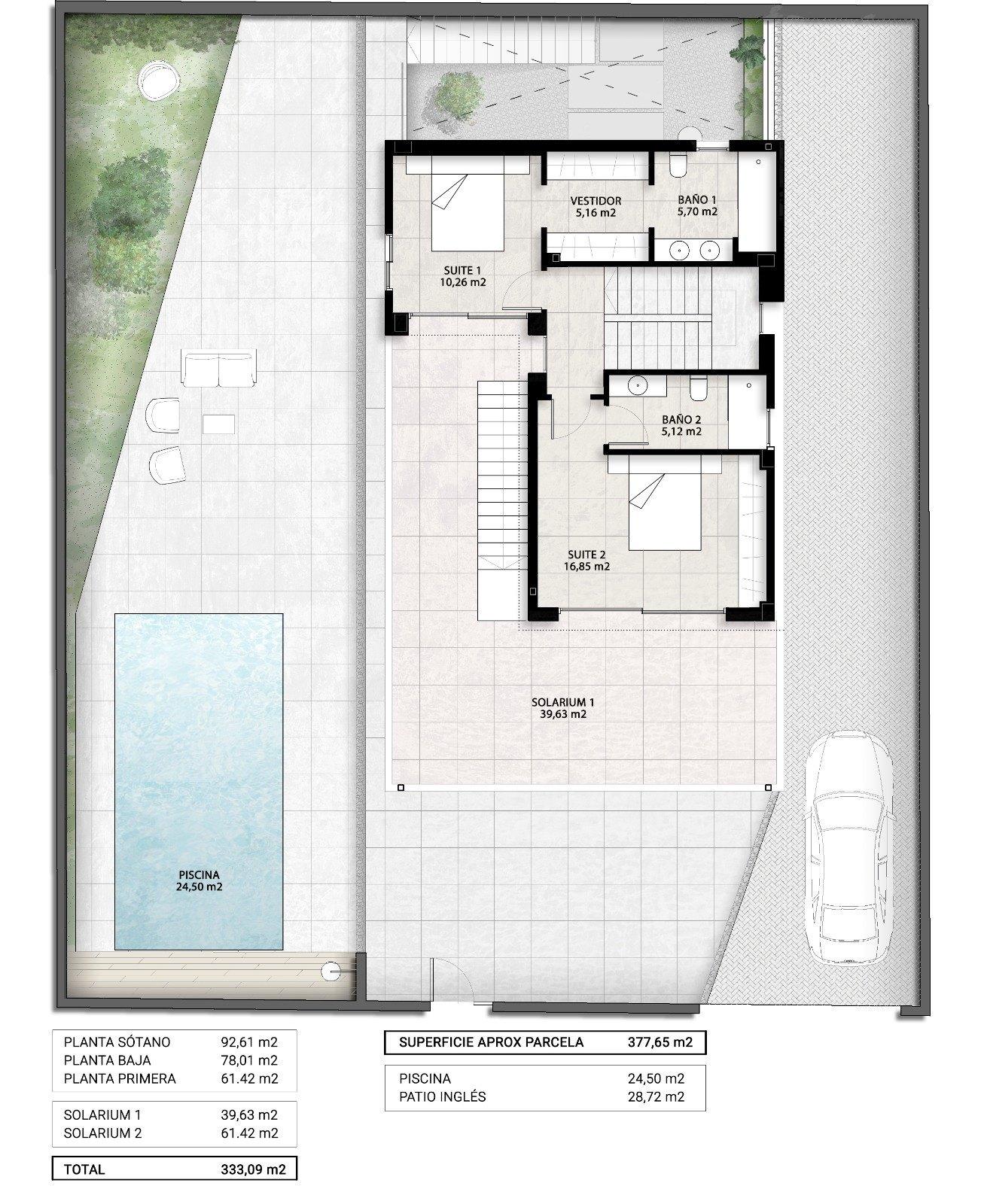 Villa de Obra Nueva a la Venta en Finestrat - Benidorm - Costa Blanca