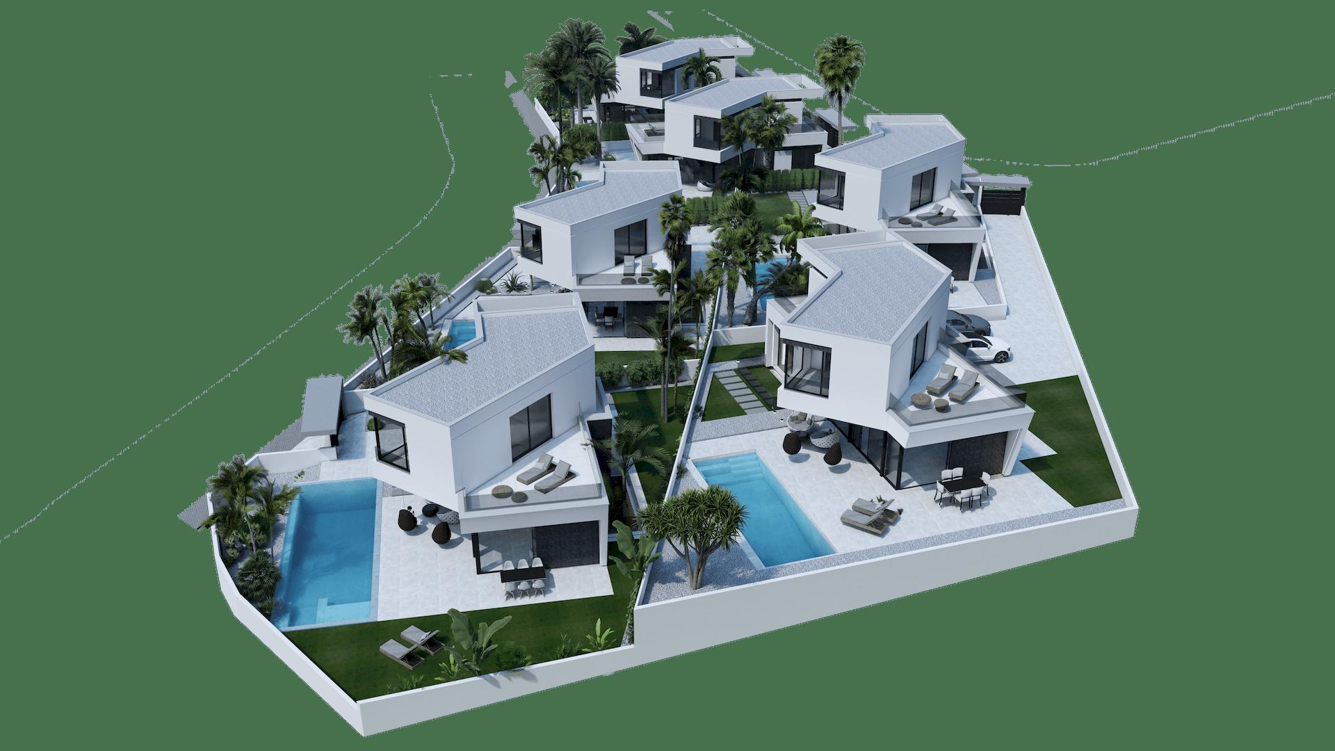 Villa de Lujo estilo Moderna a la Venta en Benidorm - Costa Blanca