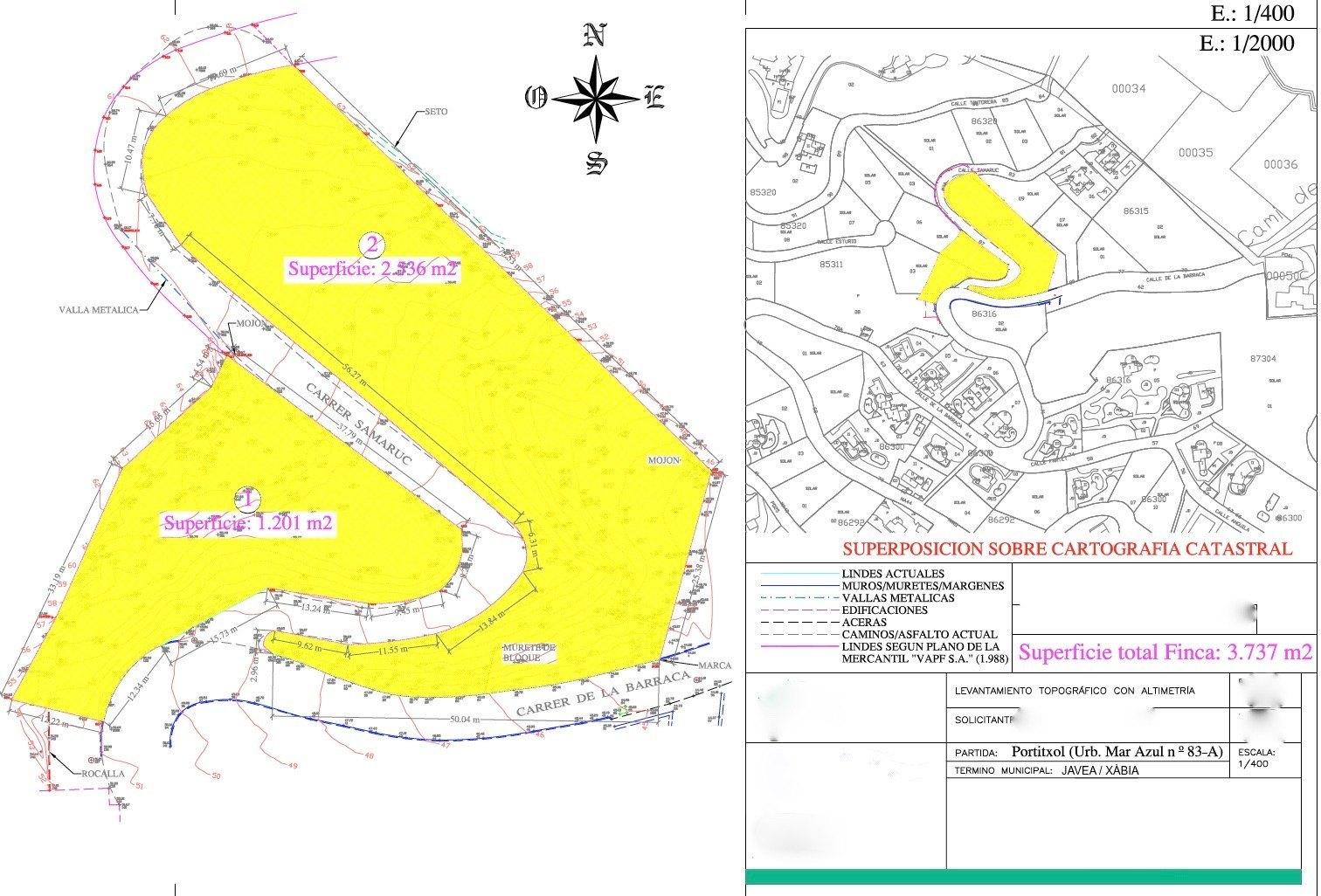 Parcela a la Venta en Urbanizacion Mar Azul - Portichol - Javea