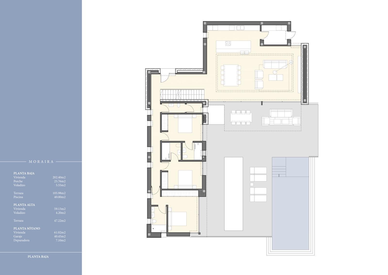 Se vende villa moderna de lujo en Moraira en Costa Blanca