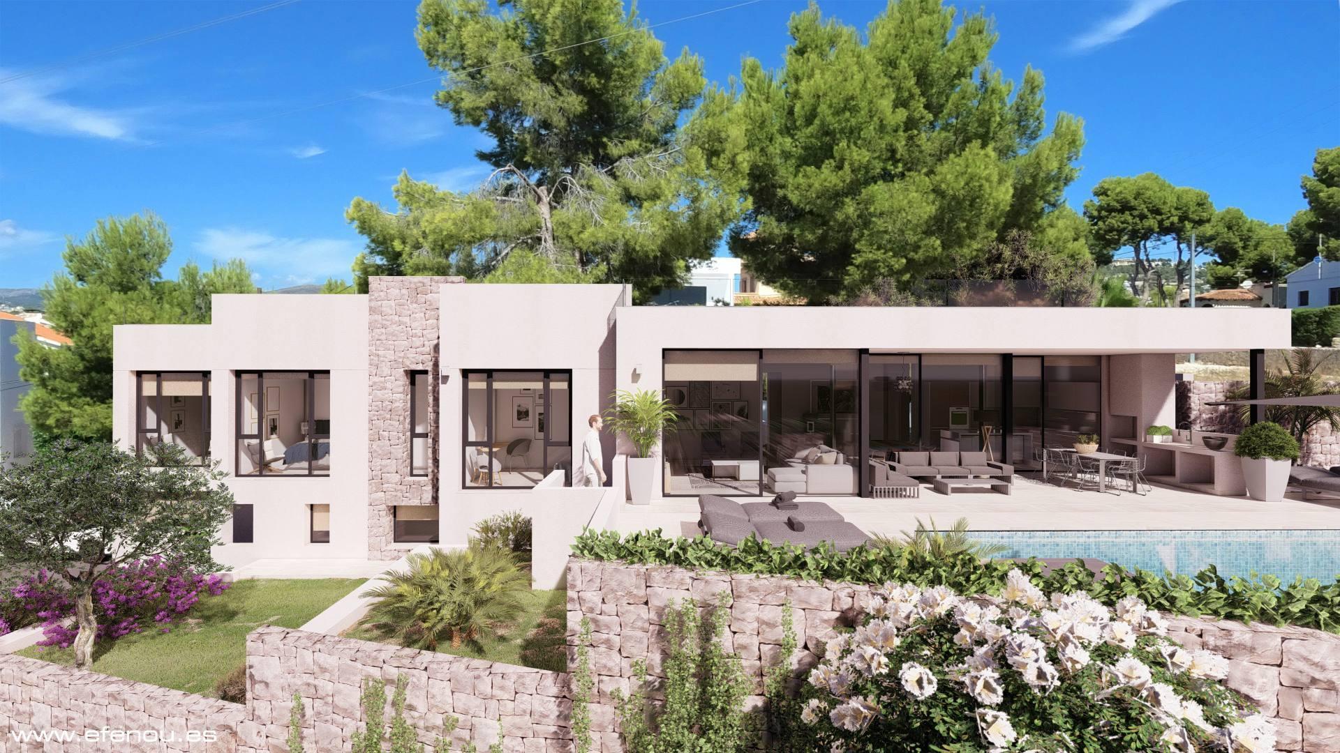 Villa de Lujo Moderna a la Venta en Calpe - Costa Blanca Norte