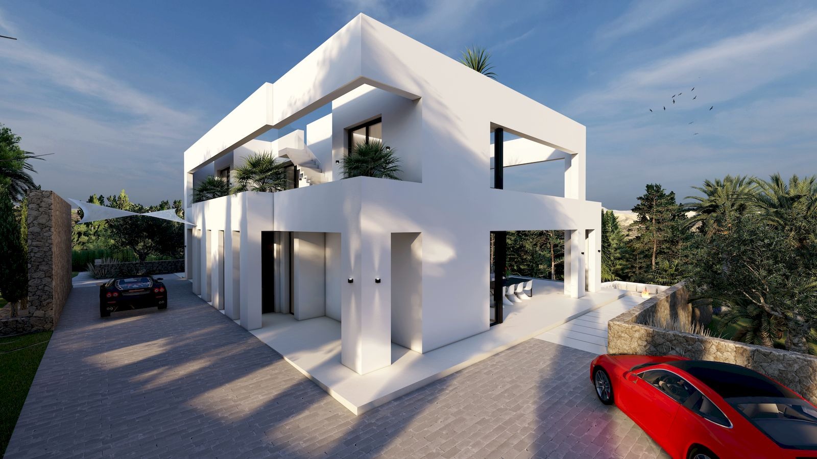 Villa Moderna de Obra Nueva a la Venta en Benissa - Costa Blanca